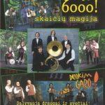 Sutaras – SKAIČIŲ MAGIJA (6000 KONCERTAS!)